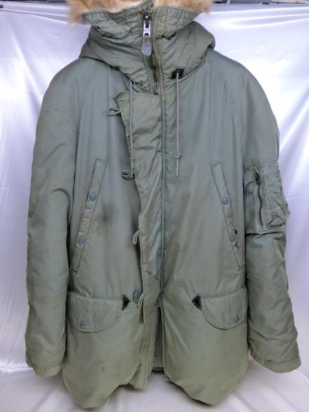US空軍実物 N-3B SKYLINE CLOTHING 70年納品 SizeM MIL-J-6279H スカイライン M メンズ mens【中古】