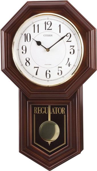 ★即納【RHYTHM】リズム時計 (CITIZEN) アンティークタイプ 掛時計 4MJA03RH06 ベングラーR ボンボン時計 ★送料無料【smtb-KD】