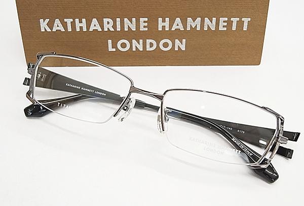 KATHARINE HAMNETTキャサリン・ハムネット 眼鏡メガネ フレーム KH9179 2 日本製 チタン 度入り対応 フィット調整対応 送料無料smtb KDv8wmnO0N