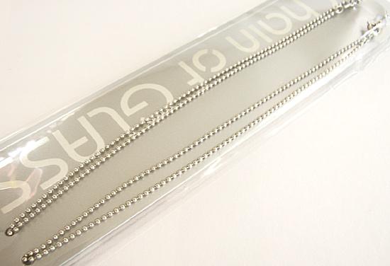 外した眼鏡をブラ下げるチェーン 日本製 引き出物 蔵 眼鏡用メガネチェーン ネックレスグラスチェーンCW321 《メール便発送》