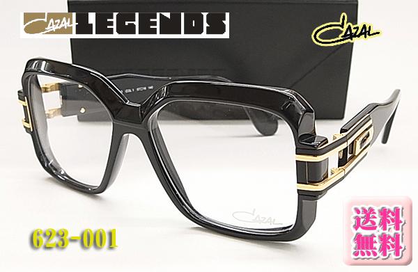 【CAZAL】カザール 眼鏡 伊達眼鏡 LEGENDS 623-001 太リム (度入り対応/フィット調整対応/送料無料!【smtb-KD】