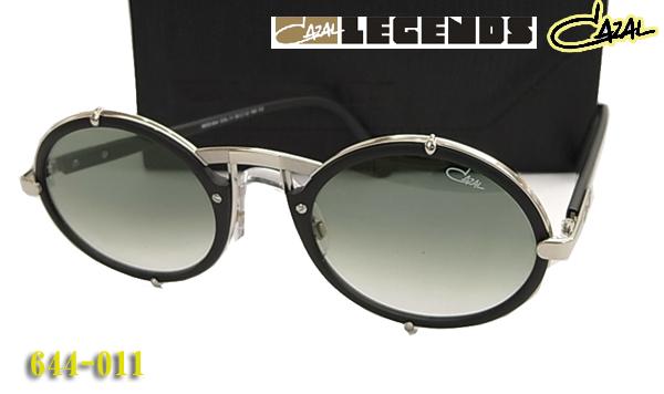 【CAZAL】 カザール サングラス LEGENDS 644-011 ラウンド 丸眼鏡 (度入り対応/フィット調整対応/送料無料!【smtb-KD】