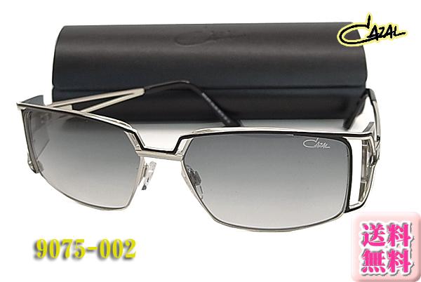 【CAZAL】カザールサングラス 9075-002 正規品 シルバー/ゴールド(度入り対応/フィット調整対応/送料無料!【smtb-KD】