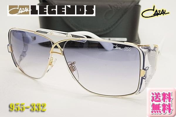 【CAZAL】カザール サングラス LEGENDS 955-332 (フィット調整対応/送料無料!【smtb-KD】