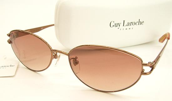 【GuyLaroche】ギラロッシュ サングラス GL6205-BR (度入り対応/フィット調整可/白内障にも