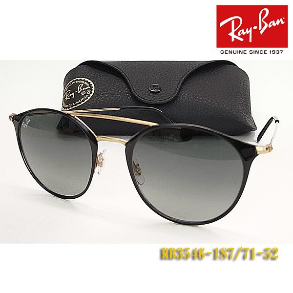 【Ray-Ban】レイバン サングラス RB3546-187/71-52サイズ(度入り対応/フィット調整対応 送料無料!