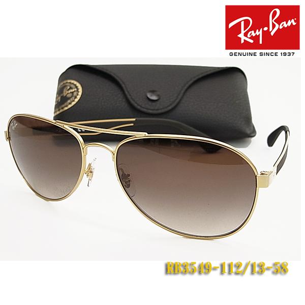 【Ray-Ban】レイバン サングラス RB3549-112/13-58サイズ 正規品 (度入り対応/フィット調整対応 送料無料!