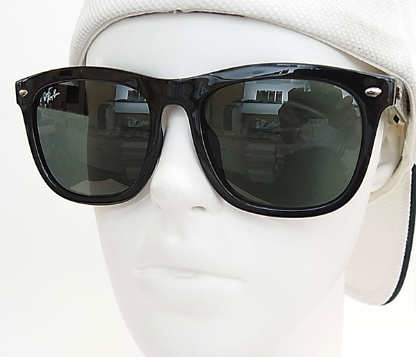 2efd619939d8ad  Ray-Ban レイバン サングラス RB4260D-601 71 YOUNGSTER ラージサイズ (度入り対応 フィット調整対応 送料無料!