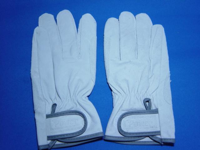 革手袋 豚皮マジック付き手袋 レンジャータイプ 作業皮手 数量限定!50双 豚レインジャー手袋