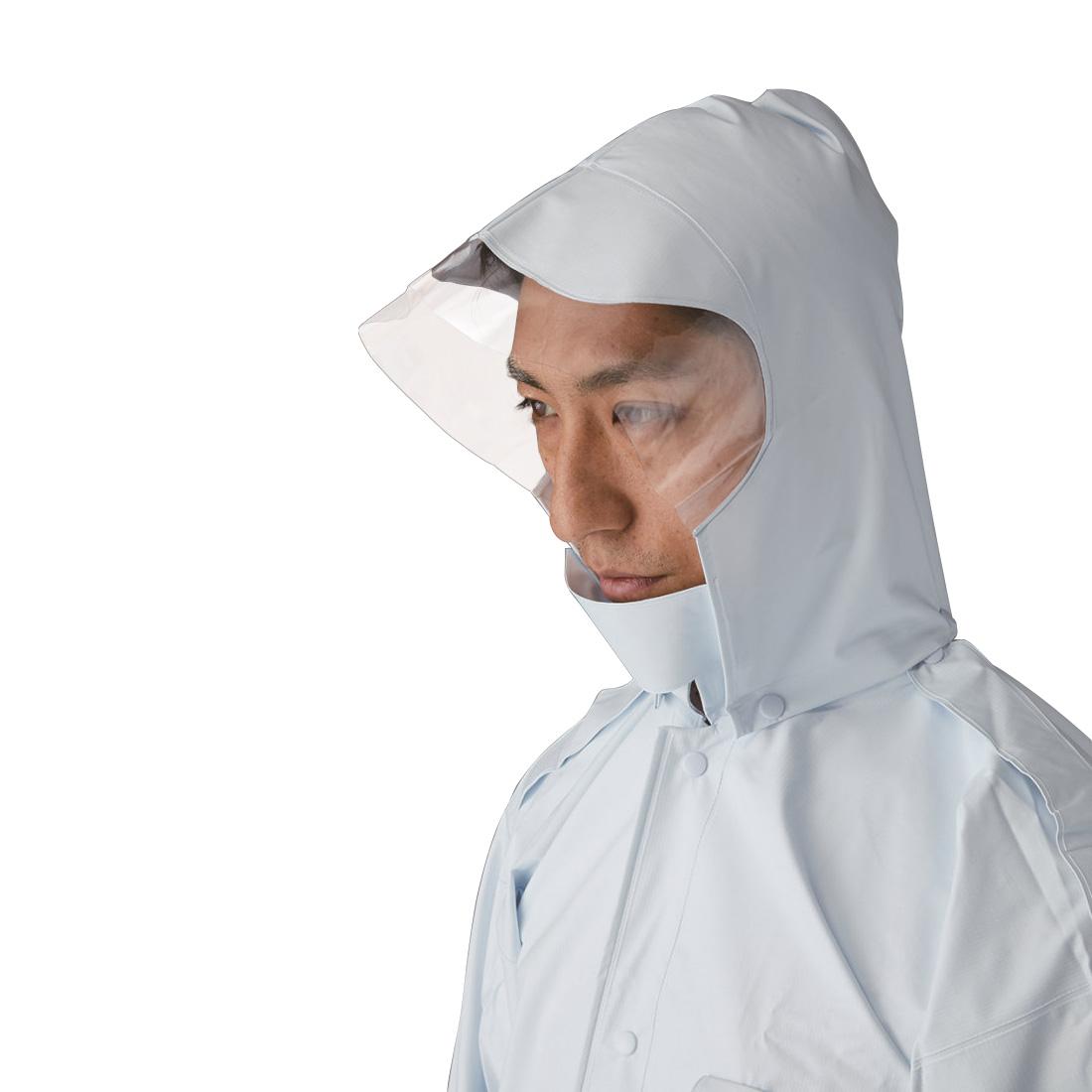 XEBEC18451 ジーベック セキュリティ 雨衣 高輝度 M~LL