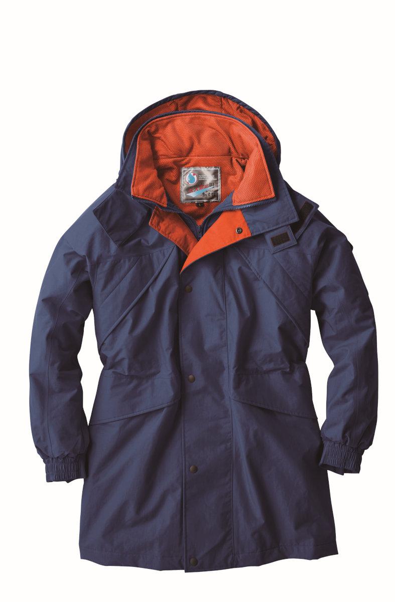 雨や水の浸入を防ぎ汗をかいても蒸れない防寒ウェアです XEBEC531 ジーベック 防寒[防水] 防水防寒コート M~5L