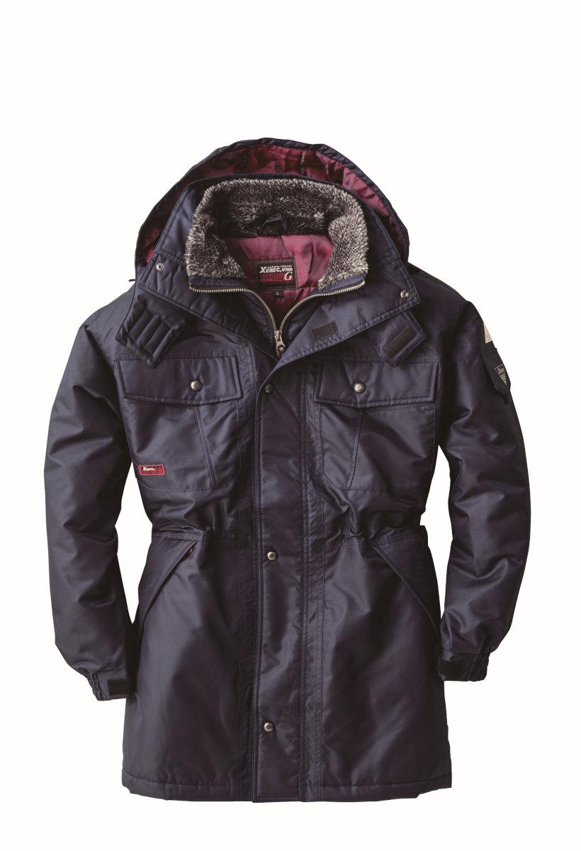 XEBEC571 ジーベック 防寒[防水] 防水防寒コート M~5L