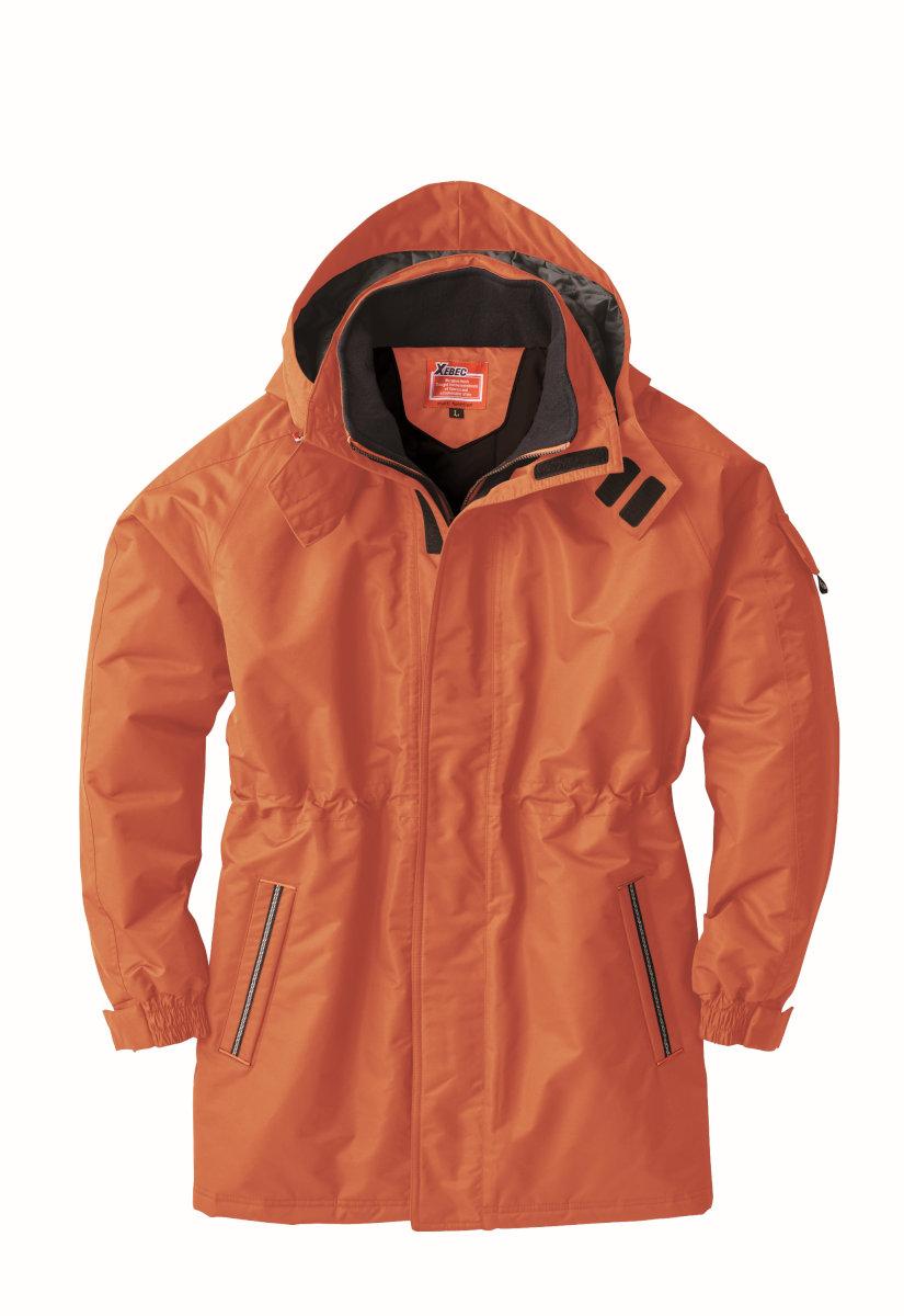 XEBEC591 ジーベック 防寒[防水] 防水防寒コート S~5L