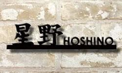 フォント限定 漢字2文字以内+アルファベット8文字以内 漢字とアルファベットの切り文字表札 ステンレス製stl350105kオーダーメイド表札作製 メールでデザイン確認付きだから安心 自動車用塗装仕上げ