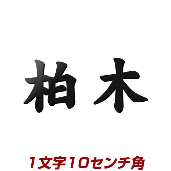 1文字価格 漢字タイプ ステンレス切り文字表札 10cm角 stl3-100k アイアン表札の進化型 おしゃれでかっこいいデザイン表札 ひょうさつ 強くて綺麗な自動車用塗料仕上げ