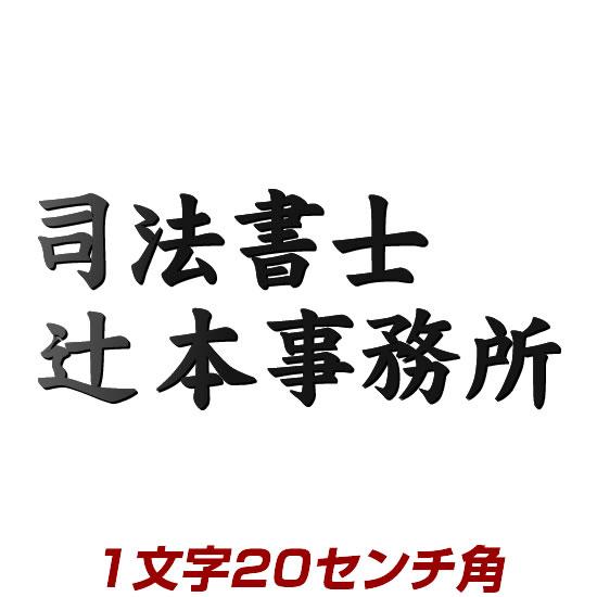 1文字価格 漢字タイプ ステンレス切り文字表札 20cm角 stl3-200k エッジが際立つレーザーカット加工 書体・カラーが選べるオーダーメイドの表札(ひょうさつ)