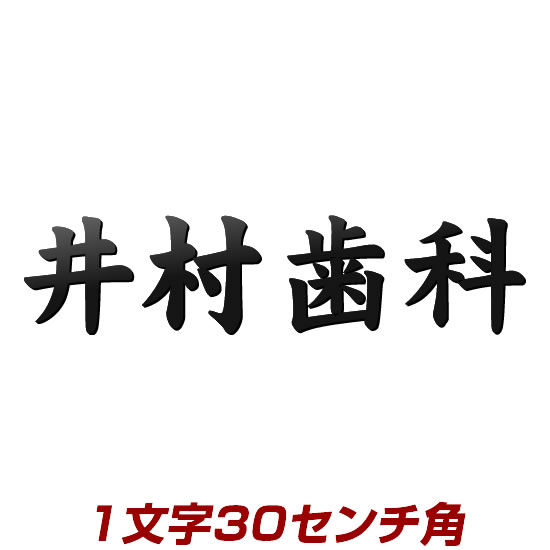 1文字価格 ステンレス漢字バラ文字表札看板30cm角 stl3-300k 屋外でも強くて美しい自動車用塗料仕上げ 取り付けボルトはがっちり溶接!こだわりネームプレート ひょうさつ