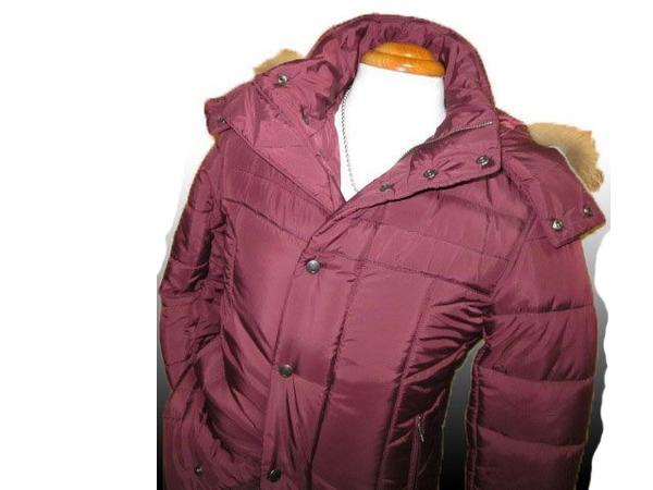 ◆新品 モルガンオム リアルファー中綿ジャケットe