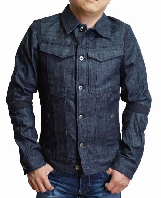ジースターロウ G-STAR RAW デニムジャケット D06044 SLIM JKT メンズ インディゴ ジースターロゥ 春物 秋物 ジージャン Gシャン