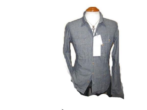 ◆新品 ボイコット 長袖シャツ シャンブレーj