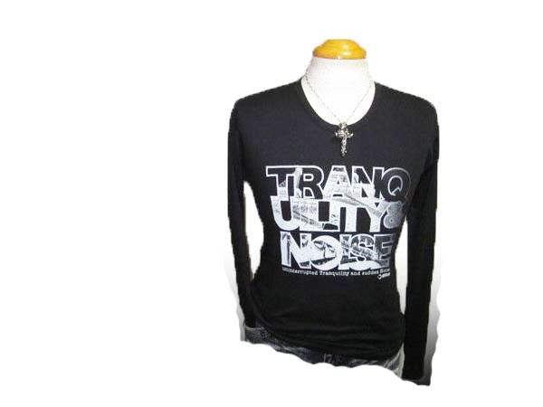 ◆新品 モルガン 長袖Tシャツ 黒 ■
