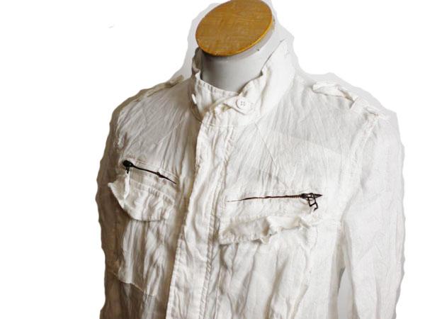 ♪★ ボイコット サマー ジャケット 白 サイズL ★