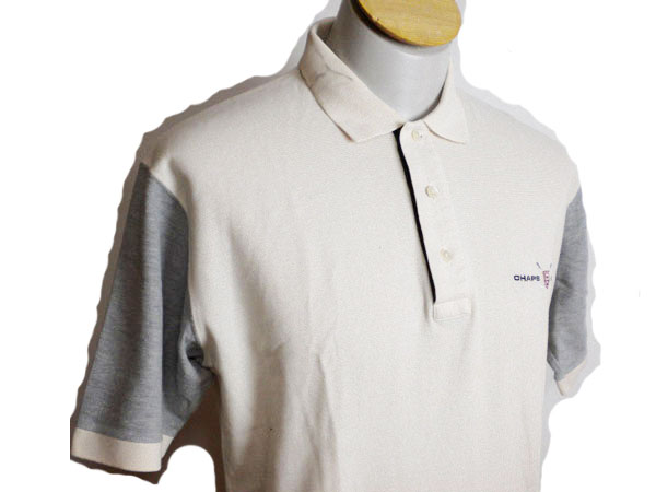 美品 ◆ ラルフローレン 半袖ポロシャツ ベージュ M ◆ g015