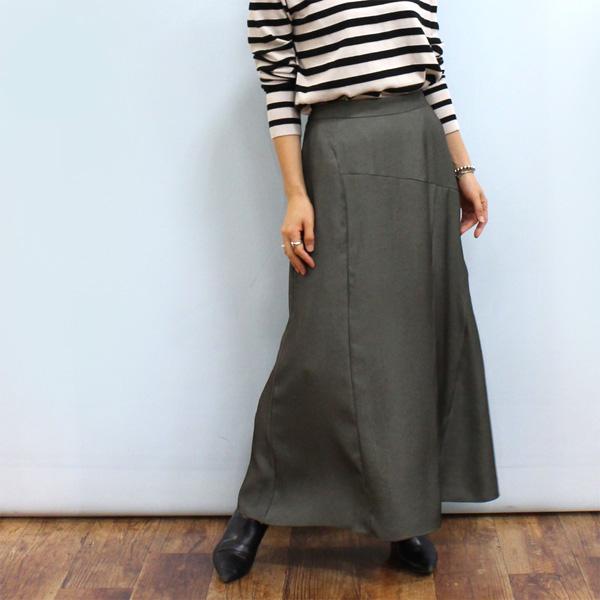 ロング丈スカート 30%OFF 安い CYNICAL シニカル 96033 正規逆輸入品 セミ スカート《セール品につき返品不可》 フレア 切り替え