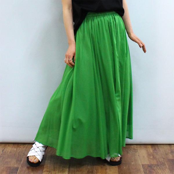 ロング丈スカート 30%OFF 贈答 Dignite collier ディニテ コットン フレア 激安超特価 スカート《セール品につき返品不可》 802211 コリエ
