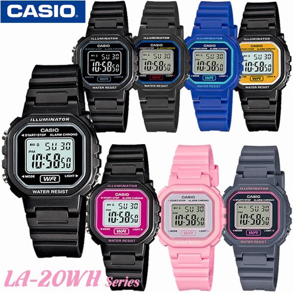メール便送料込 時刻合わせ点検後に発送 小さくてかわいい チープカシオ CASIO LA-20WH-1A LA-20WH-1B LA-20WH-1C LA-20WH-2A 超激得SALE LA-20WH-4A LA-20WH-4A1 LA-20WH-8A LA-20WH-9A キッズ デジタル カシオ かわいい 海外モデル 新品 送料無料 女の子 腕時計 スタンダード 新作 子供用 レディース 男の子