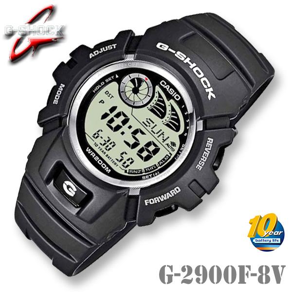 CASIO G-SHOCK G-2900F-8V カシオ Gショック デジタル 腕時計 e-DATA MEMORY【電池寿命 10年】ダークグレー 海外モデル【新品】ジーショック*送料無料*(北海道・沖縄は一部ご負担)