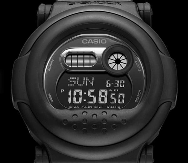 CASIO G-SHOCK G-001BB-1 カシオ Gショック 腕時計 ジェイソン 復刻 ブラック 黒【国内 G-001BB-1JF と同型】海外モデル【新品】**(北海道・沖縄は一部ご負担)