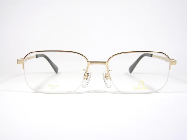 【眼鏡名門】日本製のローデンストック RODEN R-239-AEXCLUSIV ナイロール ゴールド