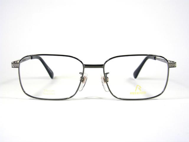 【眼鏡名門】日本製のローデンストックRODENグレー R-0250 C EXCLUSIV フルリム