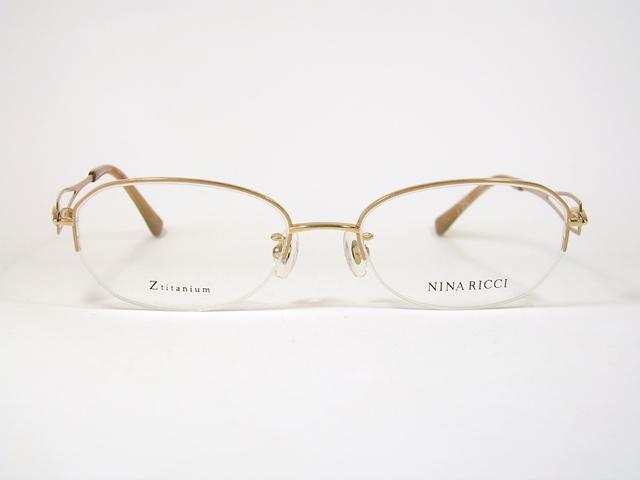 めがね産地より NINA RICCI ニナリッチNR-26610-BE ナイロール 新品【送料無料】