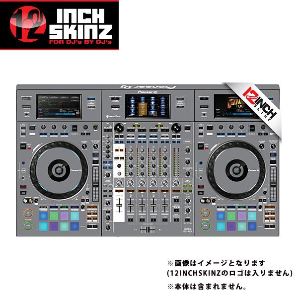 12inch SKINZ / Pioneer DDJ-RZX SKINZ (Gray) 【DDJ-RZX用スキン】