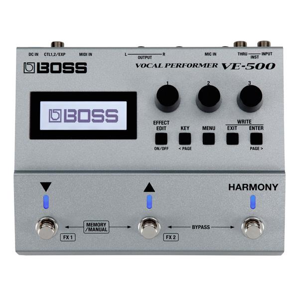 史上一番安い Boss(ボス) Boss(ボス)/ Vocal Perfomer VE-500 - ヴォーカル VE-500 -・エフェクター -, ライダーズプラザアクト:ad6b179b --- konecti.dominiotemporario.com
