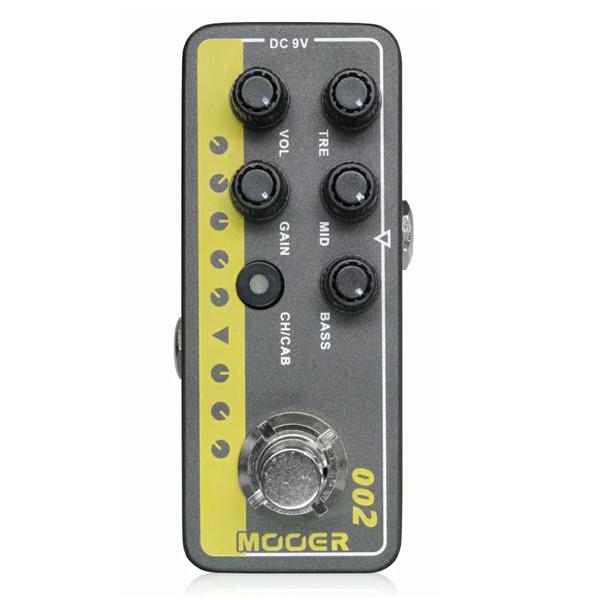MOOER(ムーアー) / Micro Preamp 002 - アンプシミュレーター - 《ギターエフェクター》