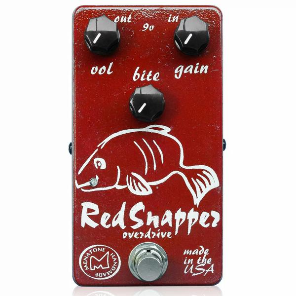 Menatone / Red Snapper 3knob - オーバードライブ - 《ギターエフェクター》