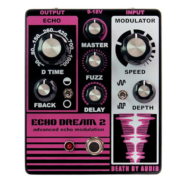 1大特典付 Death by 1大特典付 Audio by/ ECHO DREAM 2 モジュレーティング Death・エコー + ファズ 《ギターエフェクター》 デスバイオーディオ, 椎葉村:0215f7ec --- sunward.msk.ru