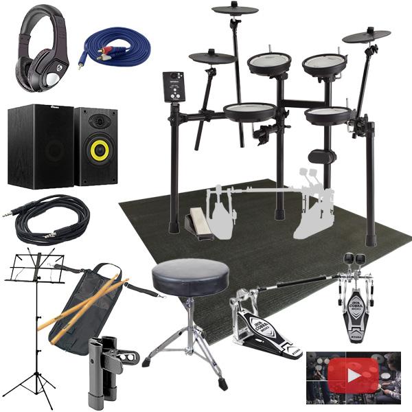 【スピーカーセット(ツインペダル)】Roland(ローランド) / TD-1DMK [TD-1 Double Mesh Kit] 電子ドラム Vドラム エレドラ 12大特典セット