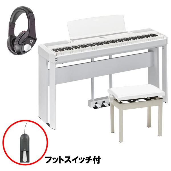 【フルセット】 YAMAHA(ヤマハ) / P-515WH ホワイト / L-515WH ホワイト / LP-1WH ホワイト / PC-300WH ホワイト - 電子ピアノ -