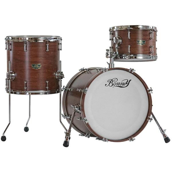 【納期要確認】Bonney Drum Japan(ボニードラムジャパン) / Bop JAZZ Drum set [Bear Wood(Mat) ]- ドラムセット -