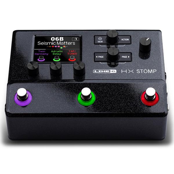 LINE6 / HX Stomp ギター・プロセッサー マルチエフェクター ラインシックス