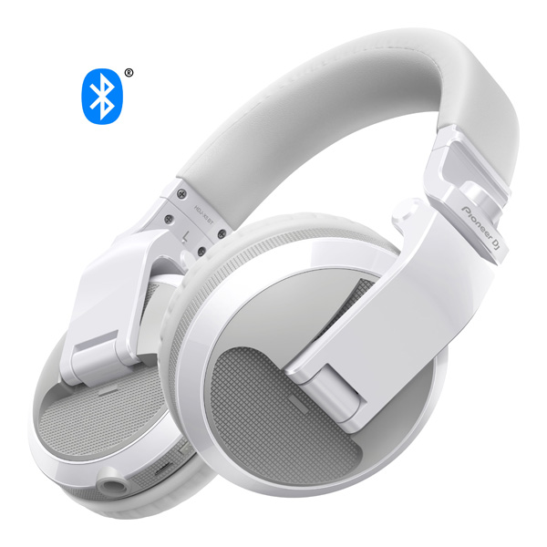 Pioneer / HDJ-X5BT-W (グロスホワイト) BLUETOOTH対応 DJ用ワイヤレスヘッドホン 【パイオニア】【国内正規品】
