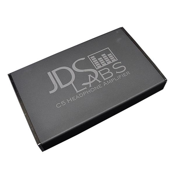 【緊急告知 12/19~26限定エントリ―P7倍】JDS Labs / C5 (Black) ヘッドホンアンプ 直輸入品