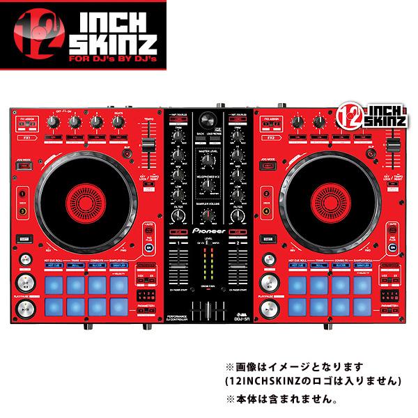 【緊急告知 12/19~26限定エントリ―P7倍】12inch SKINZ / Pioneer DDJ-SR SKINZ (Red/Black) 【DDJ-SR用スキン】