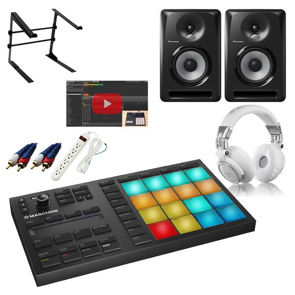 【5大特典付】 Native Instruments / MASCHINE MIKRO MK3 & Pioneer / S-DJ50X激安定番セット