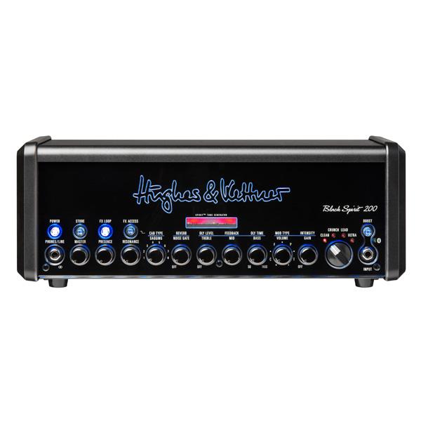 Hughes & Kettner(ヒュース アンド ケトナー) / Black Spirit 200 [HUK-BS200/H] - ギター アンプ ヘッド Bluetooth対応 -