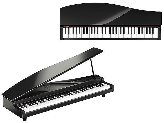 Korg(コルグ) / microPIANO ブラック (BK) - コンパクト デジタルピアノ -